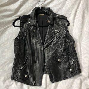 Rebecca Minkoff Moto Leather Vest S